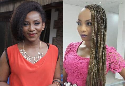 genevieve naiji hairstlyes hair your views genevieve nnaji toke makinwa flaunt