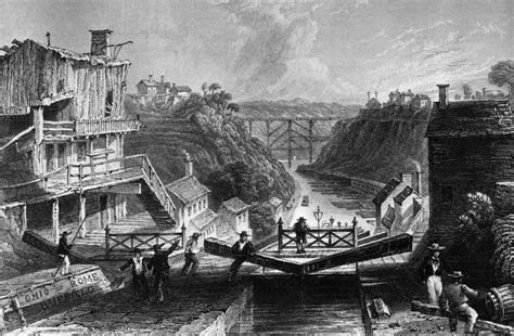 erie canal is a great exle of american ingenuity and