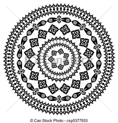 roundhouse stock images royalty free images vectors vectors of oriental arabesque pattern round csp5377933