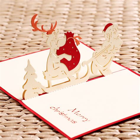 Post Card Cat Greeting Card Sno038 3d pop up cards postcard animals greeting thank you cards origami 3d post card vintage