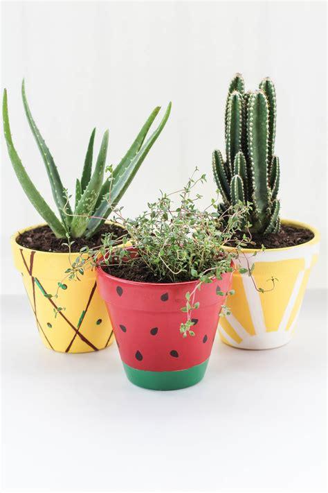 Pineapple Planters by Diy Fruit Planters Let S Mingle Blog