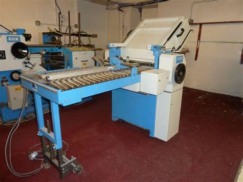 Used Paper Folding Machine - folders used finishing machines guk fa 49 4 2 paper