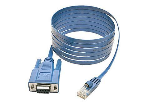 console cable tripp lite rj45 to db9f cisco serial console port rollover