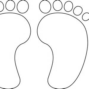 Foot Coloring Sheet Coloring Pages
