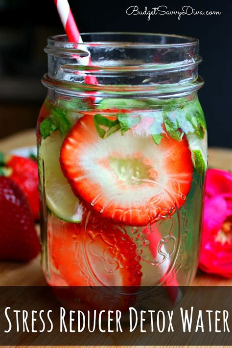 Detox Water Recipes With Mint by Stress Reducer Detox Water Recipe Detox Waters Water