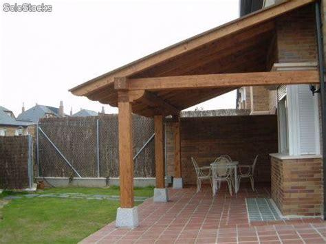 cocheras en kit pergolas porches canecillos garajes tejados de madera