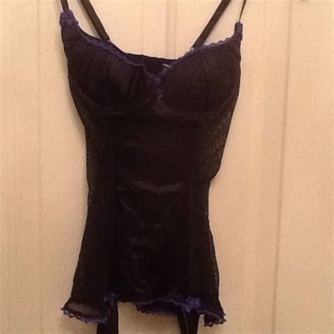 lingerie de satin 66 off frederick s of hollywood dresses skirts black