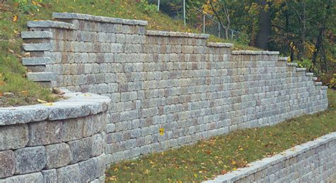 Backyard Hill Landscaping Ideas Keystone Retaining Wall Systems