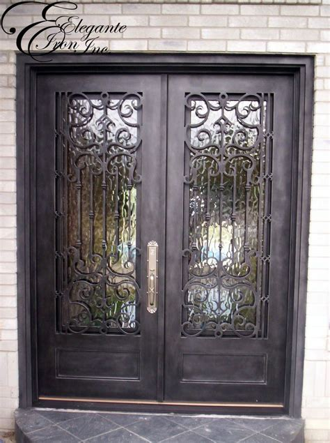 Front Door Iron Custom Wrought Iron Front Door Doors