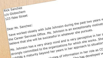 Reccomendations For A M Mba by Student Recommendation Letter Sles And Writing Tips