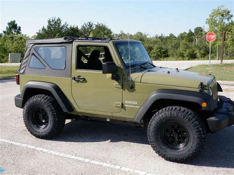 jeep sport green 2013 jeep wrangler sport commando green jeep