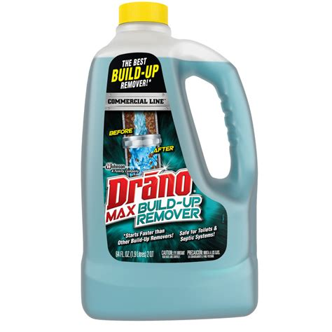 best drano for bathtub shop drano 64 fl oz drain cleaner pour bottle at lowes com