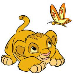 baby lion king clipart