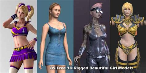 3d Home Design Software Download by 85 Free 3d Rigged Beautiful Models Rockthe3d