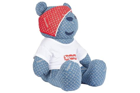 Fashion Lv Teddy B115 louis vuitton x supreme quot children in need quot hypebeast
