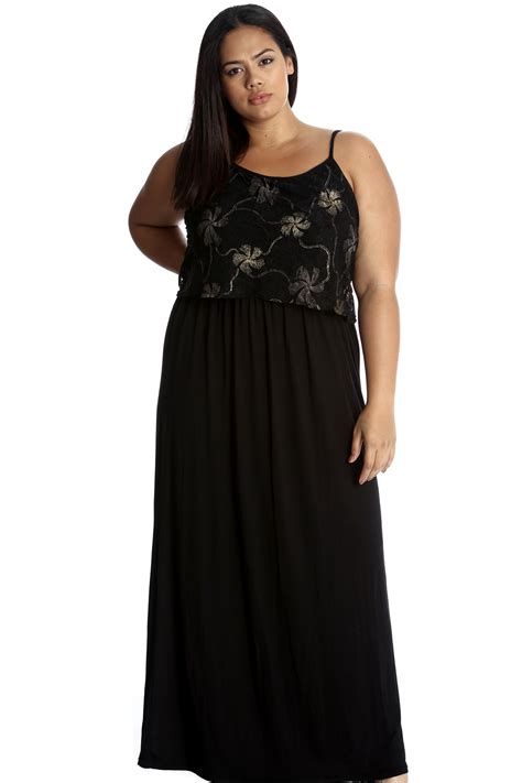 Maxi Friends Foil new plus size dress maxi foil floral top
