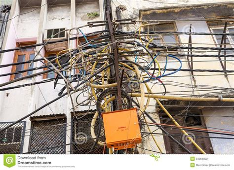 messy wires india telephone pole wires bing images