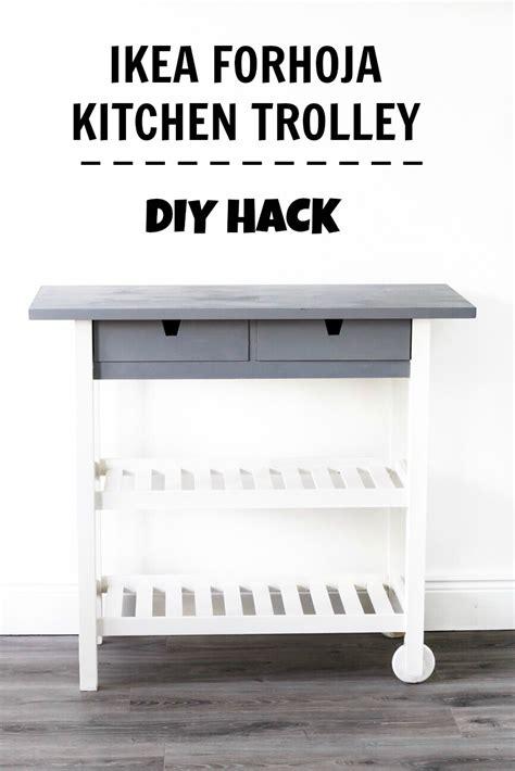 ikea kitchen hack ikea forhoja kitchen cart hack diy your beauty