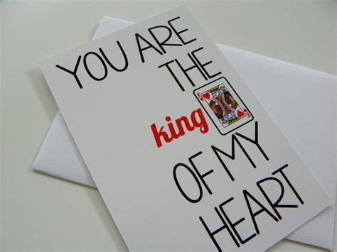 king of hearts card card valentines day
