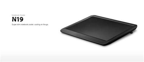 deepcool n19 notebook cooler deepcool n19 slim notebook cooler with 140mm fan
