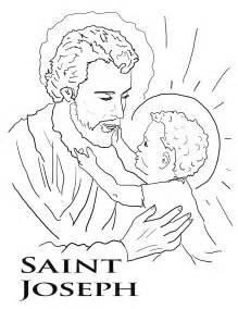 St Joseph  Catholic Kidzite sketch template