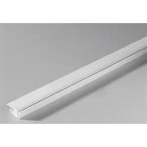 profil de finition clipsable grosfillex pvc blanc