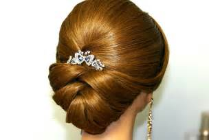 style hair does of wedding hairstyle for medium long hair bridal updo youtube