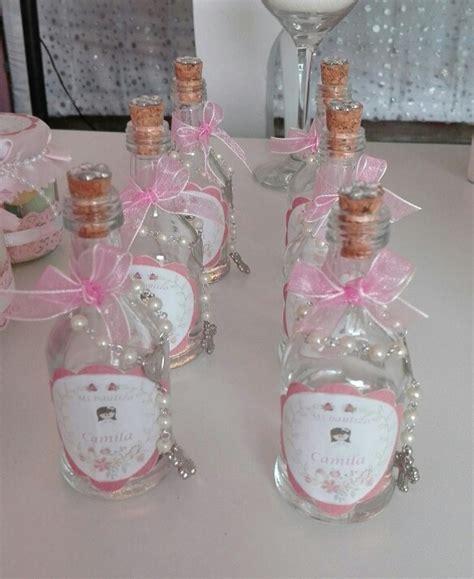 recuerdos en botella primera comunion botellitas decoradas bautizo bautizo bautizo bautismo y botellas decoradas