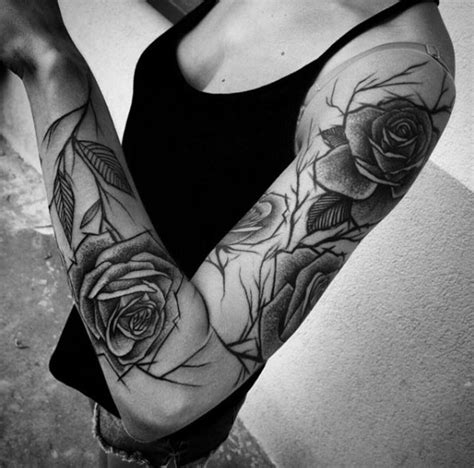 women tattoo sleeve 40 attractive sleeve tattoos for tattooblend