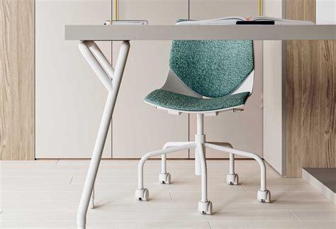sedie da scrivania per ragazzi sedia per scrivania da ragazzi coral ruote clever it
