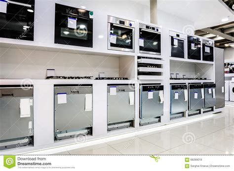 home appliance in the store stock photo image 68289018
