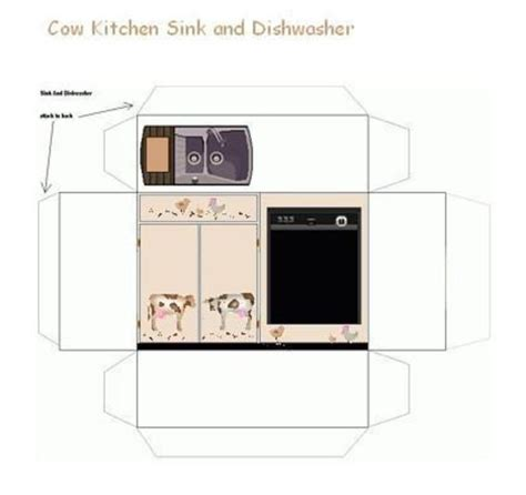 printable paper kitchen 830 best images about miniature furniture appliances