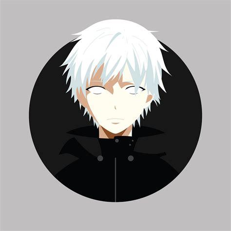 anime character vector portraits  behance