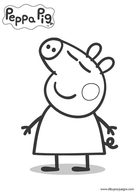 peppa pig para colorear pintar e imprimir colorear e imprimir dibujos peppa pig rincon util