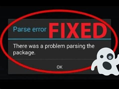 how to fix apk parse error how to fix parse error android apk installation