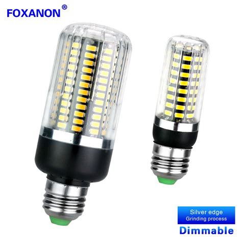 Led Light Bulbs Flickering Dimmable No Flicker Led Bulb E27 E14 5w 10w 15w 220v Led Corn L Smart Three Level Dimmer Leds