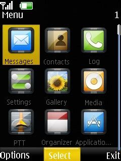 hot themes for nokia asha 201 downloadclock theme 7610supernova clock nokia asha308