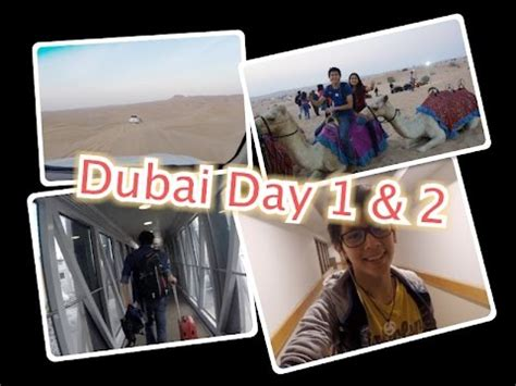 vlog !!!! ( lost our bag in dubai airport and desert