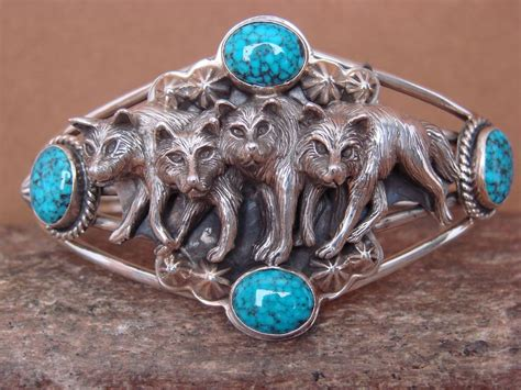 american jewelry handmade sterling silver turquoise