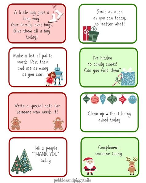 printable kindness elf ideas christmas kindness elves nice free printables and the o