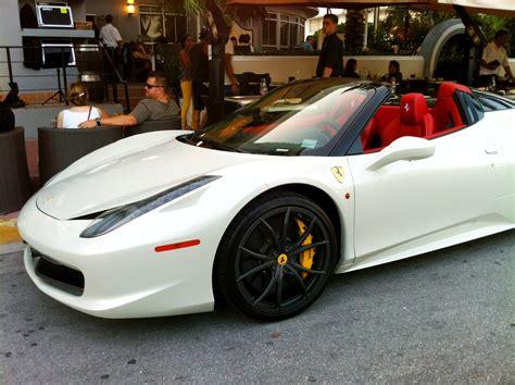 cars ferrari white ferrari 458 italia white convertible image 523