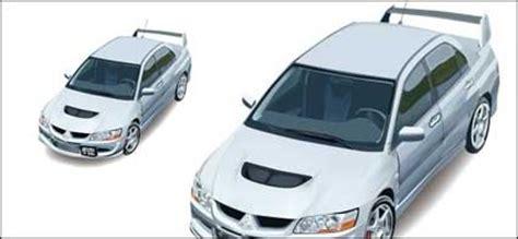 Kunci Kontak Mobil Lancer Tertawa Vektor Lancer Evolution Mobil Vektor Mobil Vektor