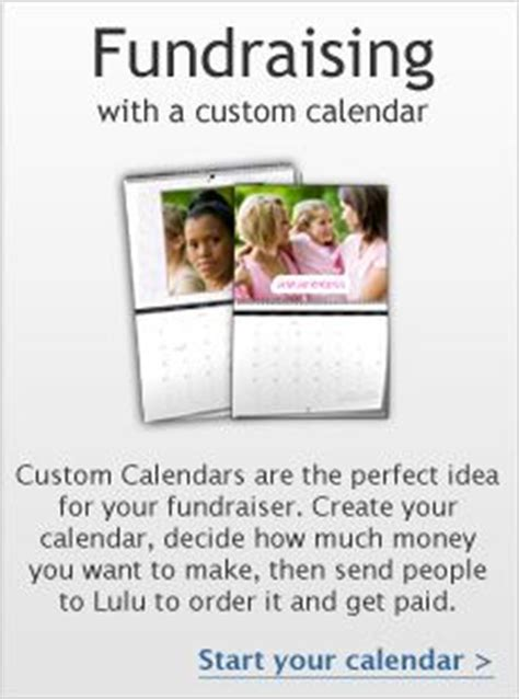 Sell Calendars Fundraiser The World S Catalog Of Ideas