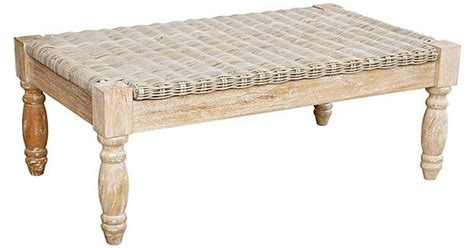 One kings lane table talk langston coffee table whitewashed products i love pinterest