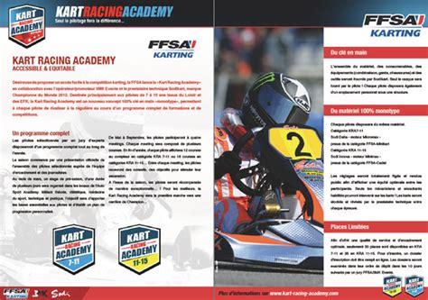 Racing Academy 13 by 13 Septembre Kart Racing Academy C Est Officiel Kartmag
