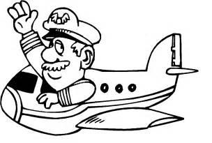 Pilot Clipart Black And White  ClipartFest sketch template
