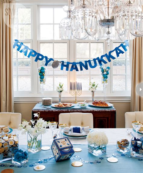 how to decorate for hanukkah oh decor