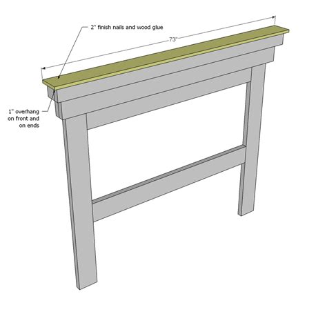 mantle headboard woodworking plans woodshop plans