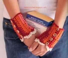 Lace Fingerless Gloves Crochet Pattern » Ideas Home Design