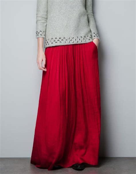 zara skirt with pockets in lyst